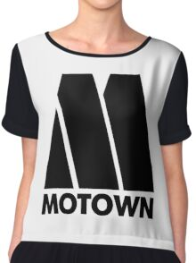 MOTOWN DISCO RECORDS Chiffon Top
