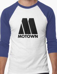 MOTOWN DISCO RECORDS Men's Baseball ¾ T-Shirt