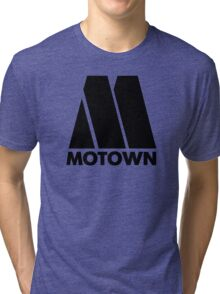 MOTOWN DISCO RECORDS Tri-blend T-Shirt