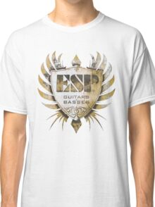 ESP Guitar Craft Academy Grunge Badge Classic T-Shirt