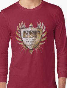 ESP Guitar Craft Academy Grunge Badge Long Sleeve T-Shirt