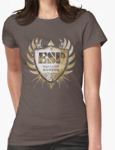 ESP Guitar Craft Academy Grunge Badge Womens Fitted T-Shirt