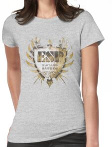 ESP Guitar Craft Academy Grunge Badge Womens Fitted T-Shirt