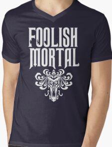 Foolish Mortal Tribal Mens V-Neck T-Shirt