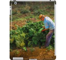 Good food on your table iPad Case/Skin