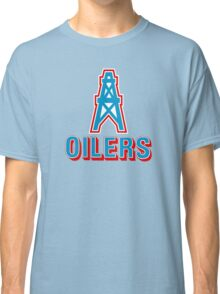 HOUSTON OILERS FOOTBALL RETRO (1) Classic T-Shirt