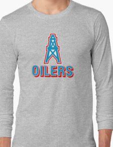 HOUSTON OILERS FOOTBALL RETRO (1) Long Sleeve T-Shirt