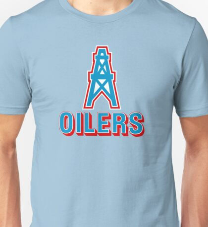 HOUSTON OILERS FOOTBALL RETRO (1) Unisex T-Shirt