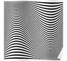 Optical Wave Poster