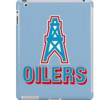 HOUSTON OILERS FOOTBALL RETRO (1) iPad Case/Skin