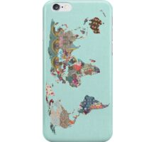 Louis Armstrong Told Us So (greenish/teal) iPhone Case/Skin