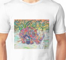 Sky Above Me, Earth Below Me, Fire Within Me (Rhino) Unisex T-Shirt