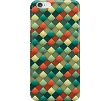 Colored rhombus pattern iPhone Case/Skin
