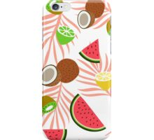 Exotic fruits pattern iPhone Case/Skin