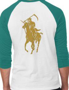 grim reaper polo back Men's Baseball ¾ T-Shirt