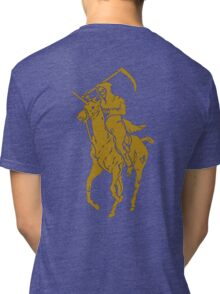 grim reaper polo back Tri-blend T-Shirt