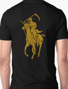 grim reaper polo back Unisex T-Shirt