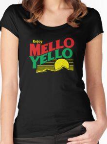 MELLO YELLO - DAYS OF THUNDER - TOM CRUISE Women's Fitted Scoop T-Shirt