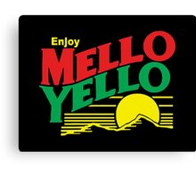MELLO YELLO - DAYS OF THUNDER - TOM CRUISE Canvas Print