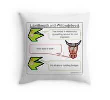Because Civil Engineers have feelings too Throw Pillow