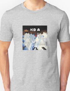 Kid A Pixel Art Unisex T-Shirt