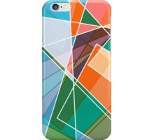 Retro styled abstract iPhone Case/Skin