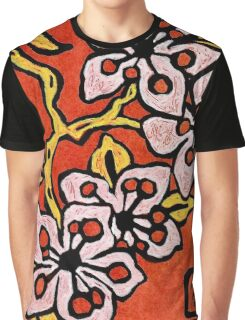 blossom detail Graphic T-Shirt