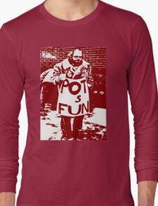 Allen Ginsberg Long Sleeve T-Shirt