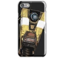 Borderlands Claptrap, wub, wub, wub! ;) iPhone Case/Skin
