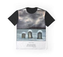Winter's Thrust Haiku Graphic T-Shirt