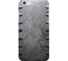 Metal railings and stone texture iPhone Case/Skin