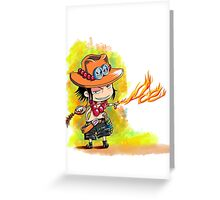 little ace  Greeting Card
