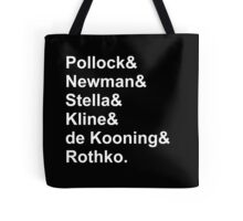 Modern Artists, Abstract Expressionists Tote Bag