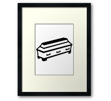 Coffin Framed Print