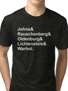 Modern Artists, Pop Art Tri-blend T-Shirt