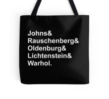 Modern Artists, Pop Art Tote Bag