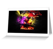 League Of Legends SKINS PROYECT Greeting Card