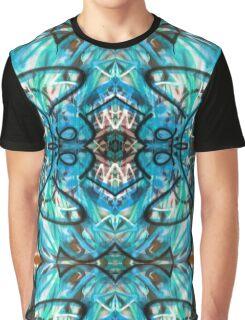 Tribal Graffiti Design Graphic T-Shirt