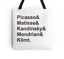 Modern Artists, Post-Impressionists Tote Bag