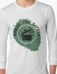 Boiled For Safety - Rhett And Link GMM Long Sleeve T-Shirt