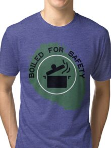 Boiled For Safety - Rhett And Link GMM Tri-blend T-Shirt