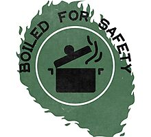 Boiled For Safety - Rhett And Link GMM Photographic Print