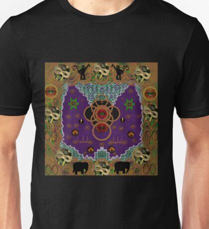 Lady Panda Mother of Mothers pop art Unisex T-Shirt