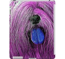 Purple Shag iPad Case/Skin