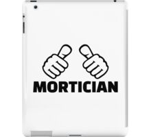 Mortician iPad Case/Skin