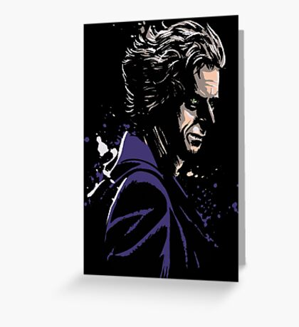 12th Doctor Who Greeting Card