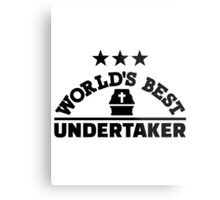 World's best undertaker Metal Print