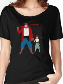 The boy and the beast - Father and son  (Wall art and shirts) Women's Relaxed Fit T-Shirt