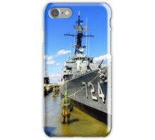 USS LAFFEY iPhone Case/Skin