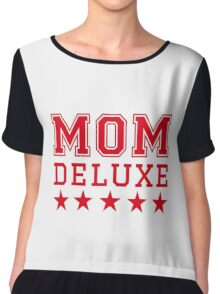 Mom deluxe Chiffon Top